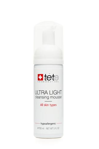 Ультра легкий мусс для умывания TETe Ultra Light Cleansing Mousse, 150 мл