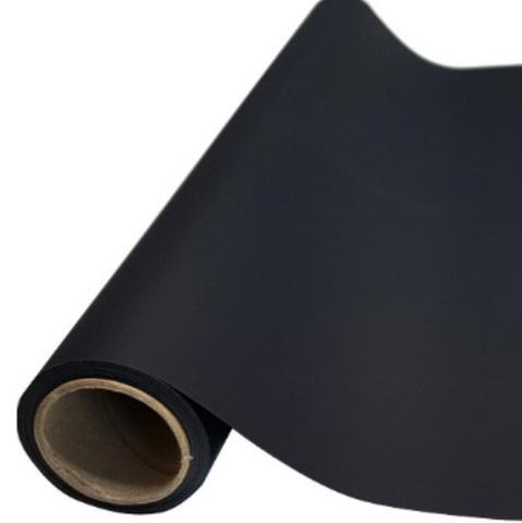Пленка матовая (размер:65см х 10м), цвет: черный