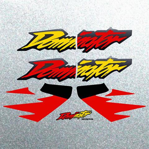 Набор виниловых наклеек на мотоцикл HONDA NX 650 DOMINATOR 1996