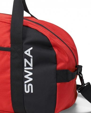 Сумка спортивная SWIZA Marcius, красная с черным