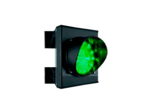 Светофор светодиодный, 1-секционный, зелёный, 230 В Came
