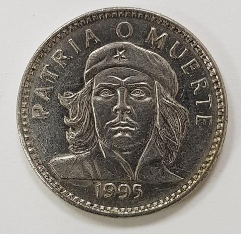 3 Песо 2002 г. КУБА. Че Гевара. XF №1