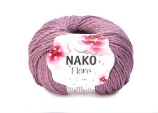 Пряжа Nako Fiore темно-розовый 10971