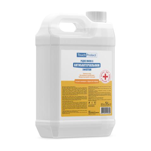 Жидкое мыло с антибактериальным эффектом Календула-Чабрец Touch Protect 5 L (1)