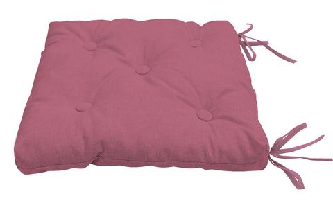 Подушка на стул Адриана розово-сиреневый
