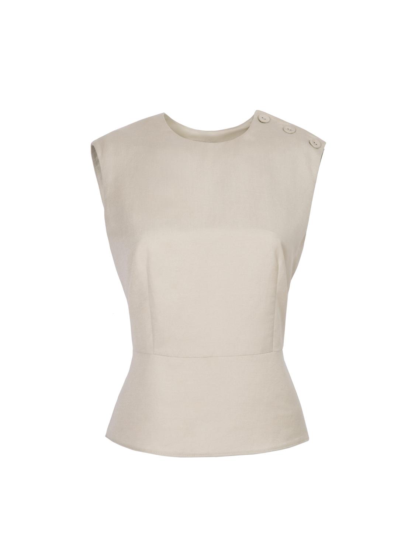 Блуза льняная