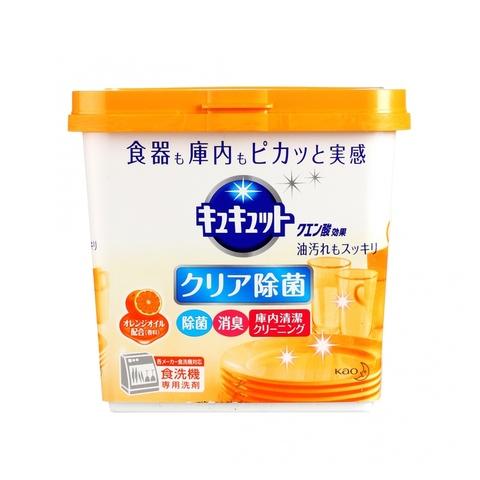 Порошок для посудомоечных машин с дезодорирующим эффектом и ароматом апельсина Kao Cucute Citric Acid Effect Orange oil 680 гр