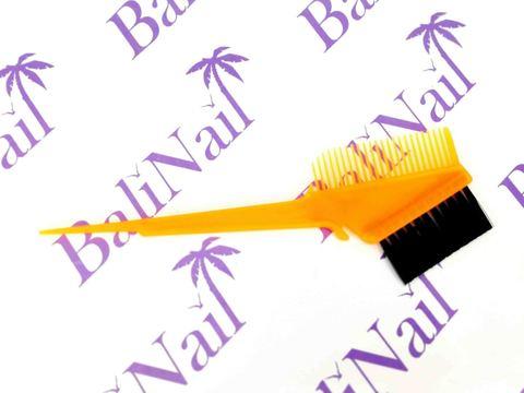 Кисть с гребнем для окрашивания волос