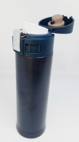 Термокружка пластик/металл  CY-003 с крышкой, 500ml
