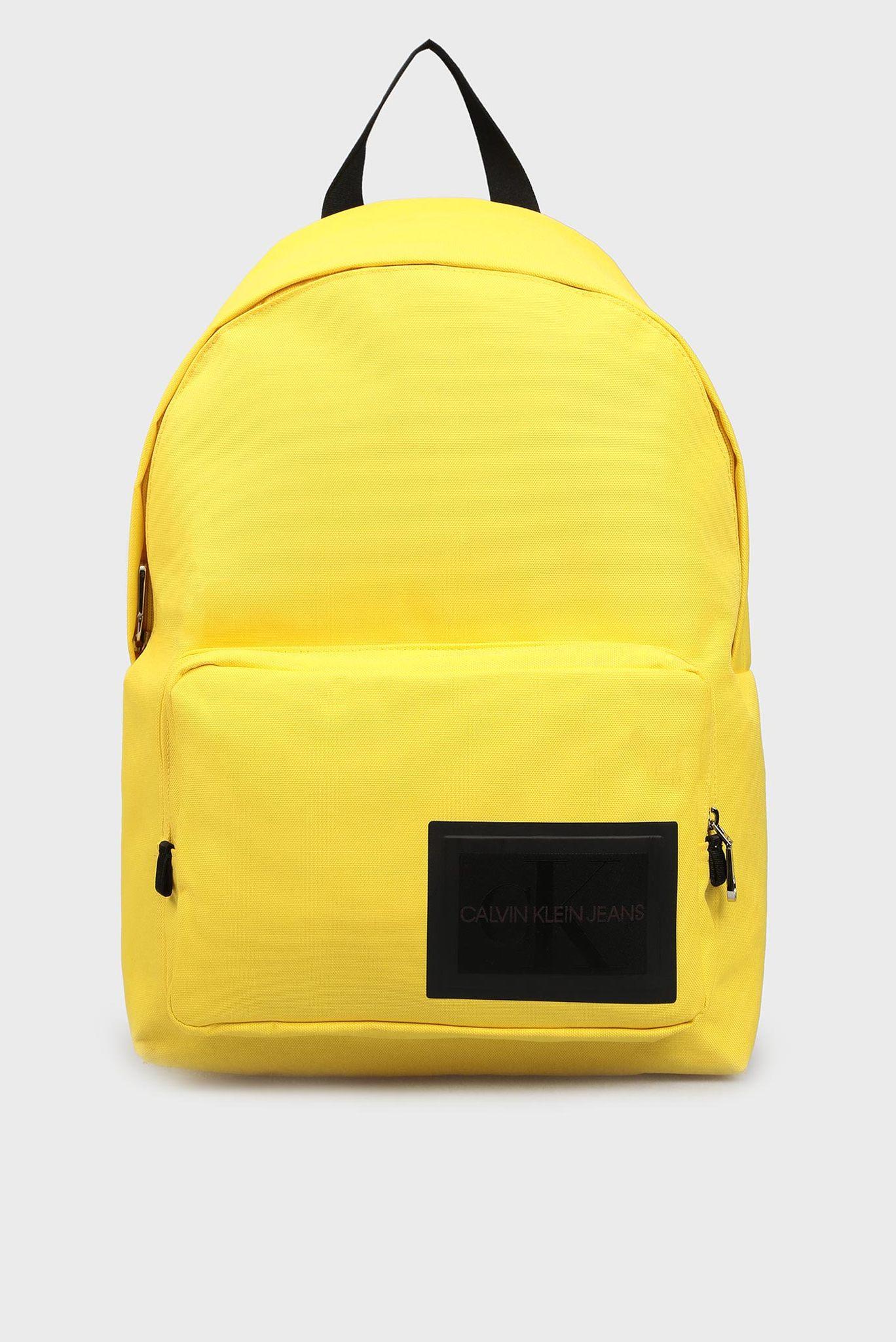 Мужской желтый рюкзак Calvin Klein