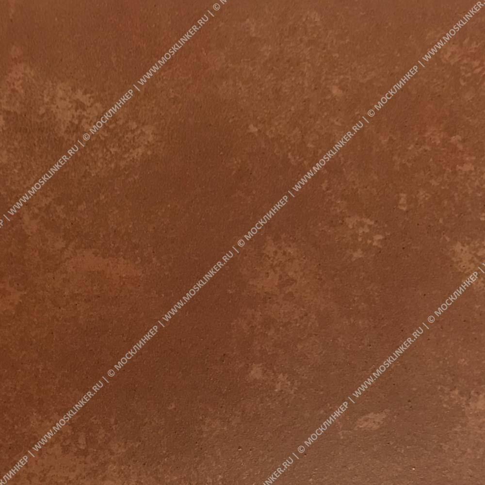 Interbau - Alpen, Kastanie/Красная глина 310x325x9, цвет 059 - Клинкерная ступень - флорентинер