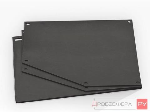Резиновая облицовка для пескоструйной камеры CAB-135 с проходными дверями