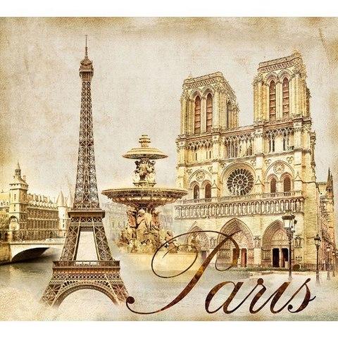 Жемчужины Парижа 294x260 см