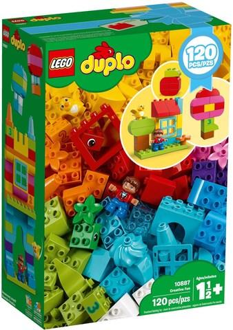 LEGO Duplo: Набор для веселого творчества 10887 — Creative Fun — Лего Дупло