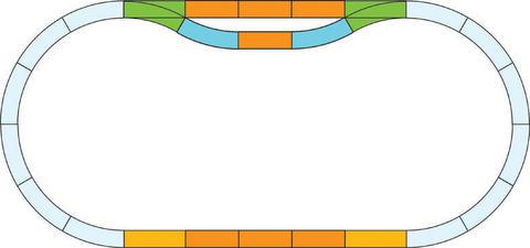 Piko 35300 Набор расширения пути, 1:22,5