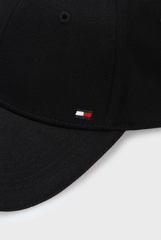 Мужская черная кепка ELEVATED CORPORATE Tommy Hilfiger