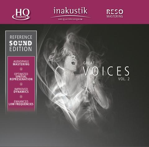 Inakustik CD, Great Voices Vol. II, 0167502