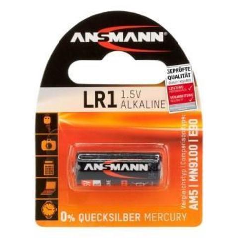 Батарейка ANSMANN LR1 (1.5V) Premium