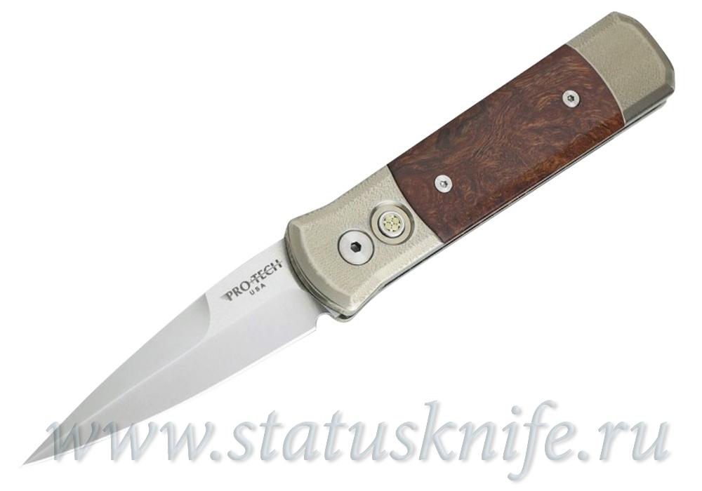 Нож Pro-Tech Custom Godson Ironwood