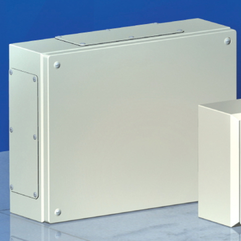 Сварной металлический корпус CDE, 400 x 200 x 120 мм, IP66