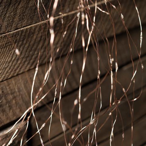 Гирлянда штора проволока 3 на 2 метра светодиодная