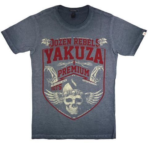 Футболка синяя Yakuza Premium вин 201