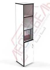 Ш-09 Шкаф офисный с распашной дверцей,с полками