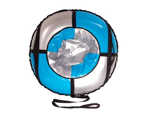 Санки-ватрушка SnowDream Classic Mini 80 серебристо-голубая