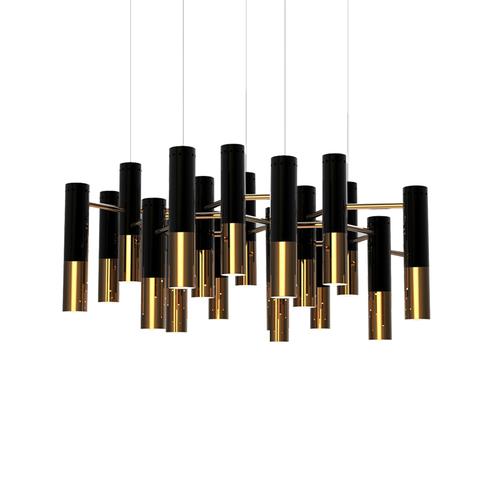 Подвесной светильник копия Ike by Delightfull (19 плафонов)