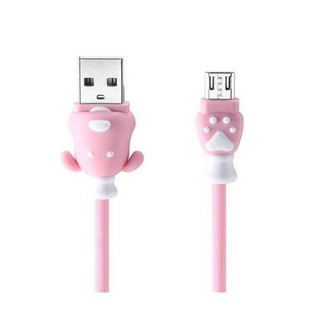 USB кабель Micro USB Remax Fortune RC-106m /pink/