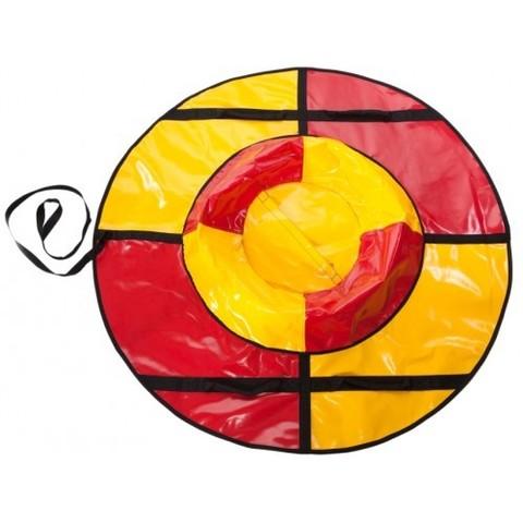 Санки-ватрушка SnowDream Classic Mini 80 красно-желтая