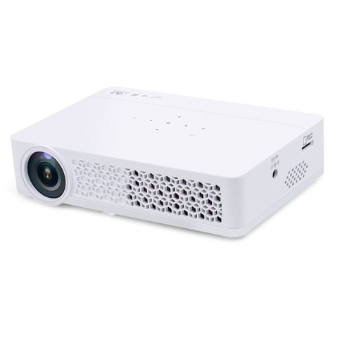Проектор HTP LED-DLP800 DLP900 Wi-Fi Android 3D очень яркий Цвет Белый