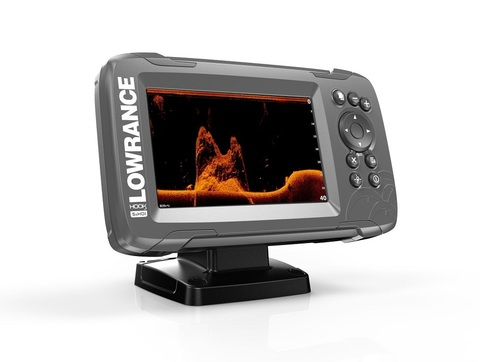 Эхолот-плоттер Lowrance HOOK2-5x GPS с датчиком SplitShot