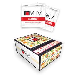 MILV, Салфетки для снятия гель-лака Rush 200 шт