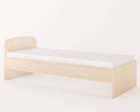 Кровать КР-01 дуб беленый