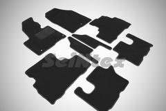 Ворсовые коврики LUX для KIA SORENTO III