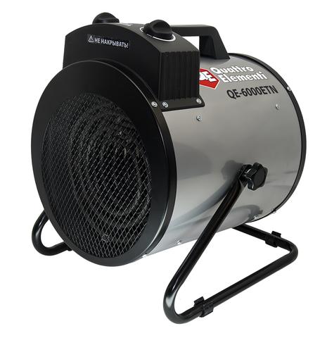 Нагреватель воздуха электрический QUATTRO ELEMENTI QE-6000 ETN (3 / 6кВт, 380В-3ф, 880 м3/ (649-271)