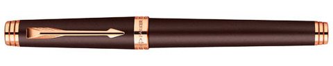 Перьевая ручка Parker Premier Soft Brown PGT123