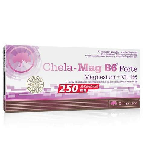 OLIMP Labs Chela-Mag B6 forte 60 капсул