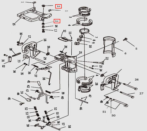 Демпфер для лодочного мотора T9.8 Sea-PRO (11-2)