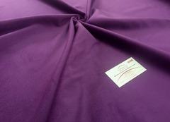 Велюр фиолетовый однотонный