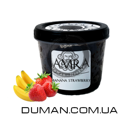 Табак Amra Banana Strawberry (Амра Банан клубника) |Moon 25г
