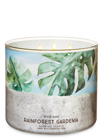 Свеча Bath&BodyWorks Rainforest Gardenia