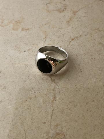 Кольцо Диапа, серебряный цвет