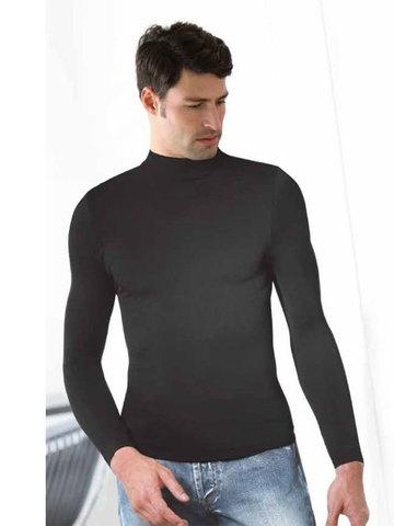 Мужская водолазка T-Shirt Lupetto Manica Lunga Intimidea
