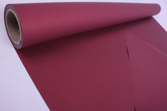 Матовая Бумага 50 см x 10 м (бургундский, MN2-17)