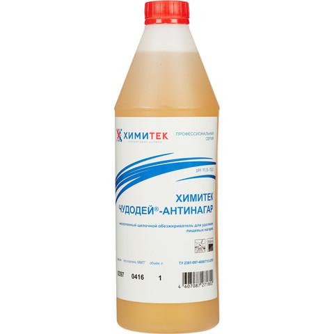 Средство для удаления пищевых нагаров Химитек Чудодей-Антинагар 1 л (концентрат)