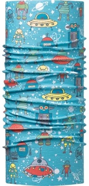 Детские банданы Бандана-труба летняя Buff Space Robots Blue 00022246_0.jpg