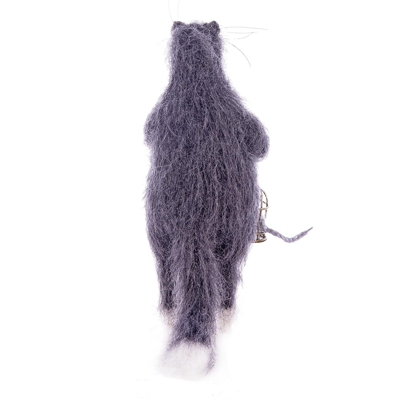 Кот с клеткой