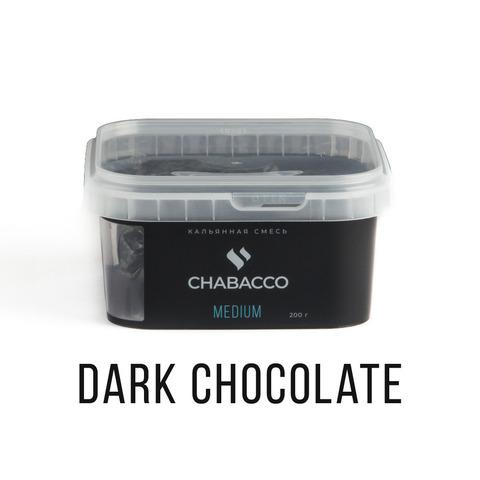 Кальянная смесь Chabacco - Dark Chocolate (Темный шоколад) 200 г